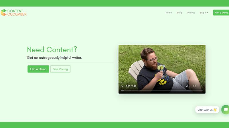 Content Cucumber: